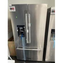 """Scratch and Dent 23.8 cu. ft. 36"""" Counter-Depth French Door Platinum Interior Refrigerator with PrintShield™ Finish - Stainless Steel with PrintShield™ Finish"""