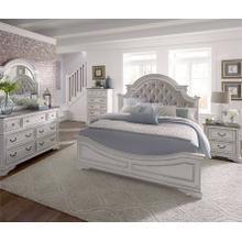 Magnolia Manor Upholstered Queen Bedroom Group