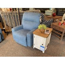 Kenley Denim Power Rocker Recliner