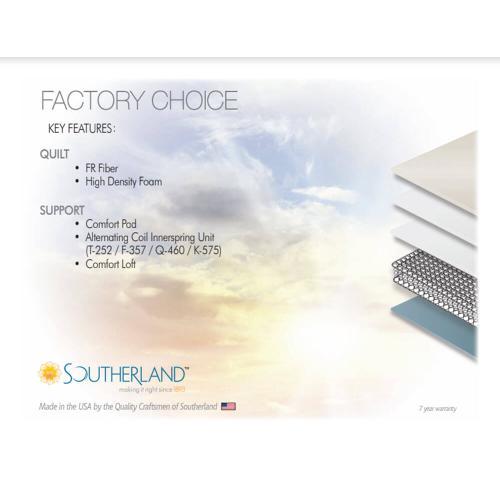 Factory Choice - Plush - Euro Top