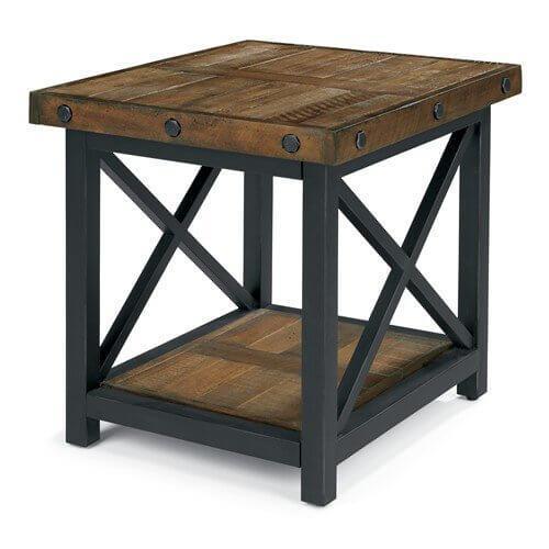 Flexsteel Home - Carpenter Square End Table