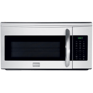30 Inch Over-the-Range Microwave Oven with SpaceWise®, Effortless™, Sensor Cooking, One-Touch Options, Ducted/Ductless Option, 1000 Cooking Watts and 300 CFM Venting System: Stainless Steel