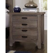 Bungalow 2 Drawer Nightstand