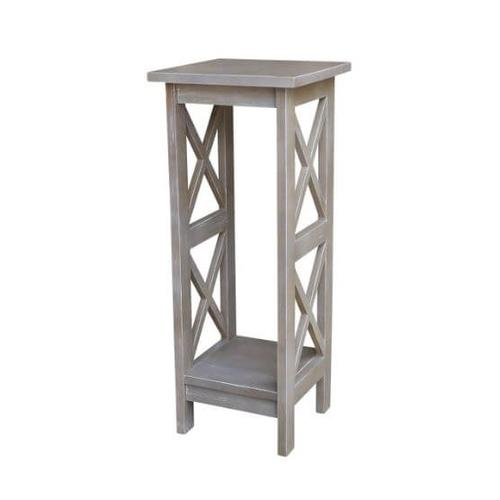 """X Side Plant Stand 30"""" - Gray"""