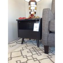Mid-century Modern Red Cocoa End Table