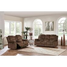Reclining Sofa with Drop Down Table	Subaru Coffee