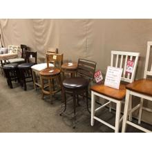 Assorted barstools by many companies..Come take a Look!!