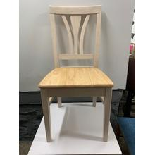 Solid Wood Fan Back Chair