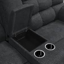 Wilhurst Reclining Loveseat with Console