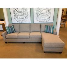 Bassett Custom Large Sofa with Chaise