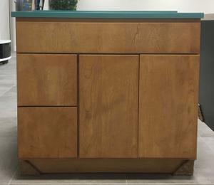 "Riverside, 36"" 2 Drawer Vanity, Birch Toffee Product Image"