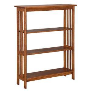 Mission 3' Bookcase