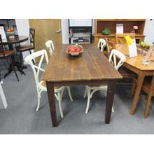5 Piece Reclaimed Dining Set