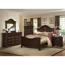 See Details - 4-PC Bedroom Suite: Queen-Bed, Dresser, Mirror & (1) Nightstand: Add $150 For King Sizes