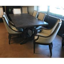 See Details - Table and 8 chairs