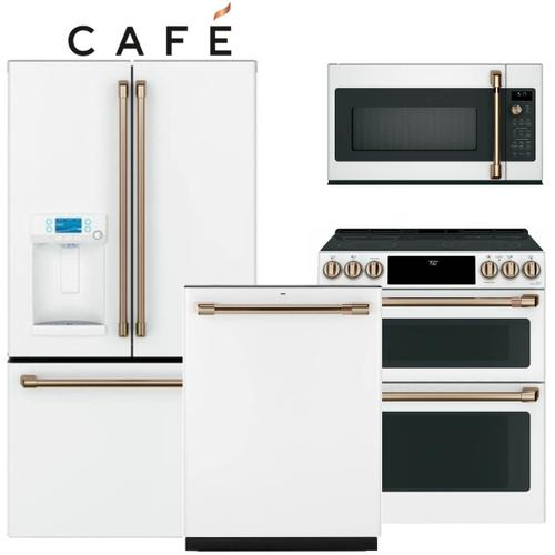 Cafe White Matte Kitchen Package - before rebate