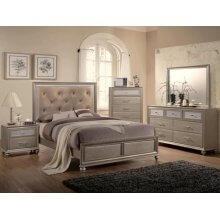 Lila Kg Bed, Dresser, Mirror, Chest and Nightstand