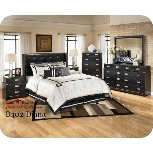 Ashley Furniture - Ashley B402 Diana Bedroom set Houston Texas USA Aztec Furniture