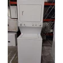 "Kenmore 27"" Stacked Laundry Center (This may be a Stock Photo, actual unit (s) appearance may contain cosmetic blemishes. Please call store if you would like additional pictures). This unit carries our 6 Month warranty, MANUFACTURER WARRANTY and REBATE NOT VALID with this item. ISI 37443 B"