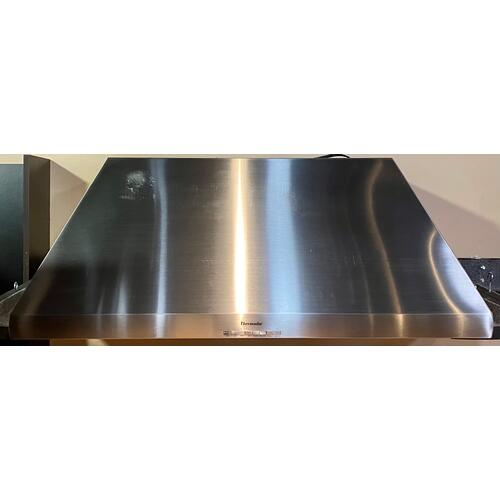 Thermador HPCB48NS   48 inch Professional Series 24 inch Depth Chimney Wall Hood /w Blower