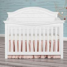 Evolur Belmar 5 in 1 Convertable Crib - Weathered White