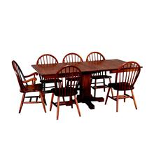 Mission Single Pedestal Table