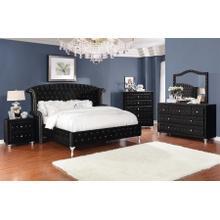 Dana-Black King Bed