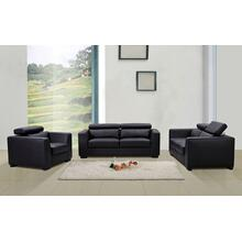 Shanghai Black Living Room Set