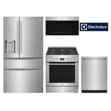 """See Details - Electrolux Kitchen 36"""" 4 Door French Door Counter-Depth W/ Slide-In"""