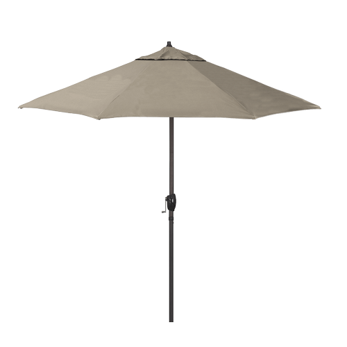 California Umbrella - Casa Series 9' Umbrella - Taupe