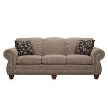 See Details - Sofa with Brass Tacks
