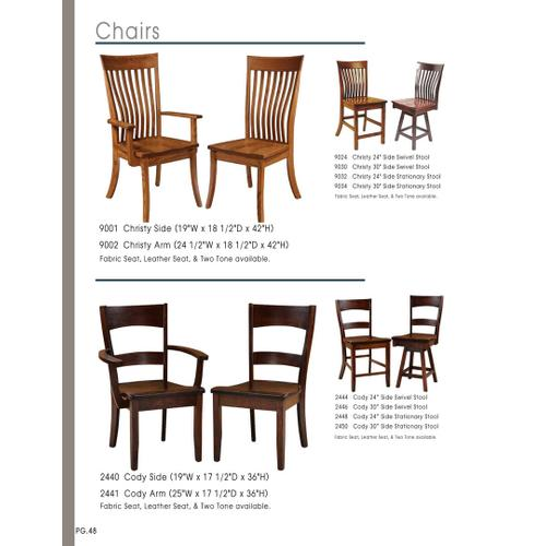 Door County Furniture - Amish Chairs Assorted