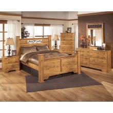 Bittersweet Dresser, Mirror, Chest, Nightstand & Queen Poster Bed