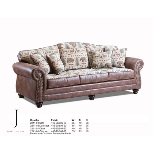 J Furniture - Boulder Collection