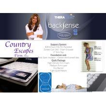 BackSense Country Escapes Foam Mattress