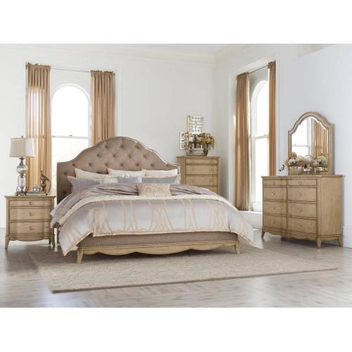 Ashden Qn Bed, Dresser, Mirror and Nightstand