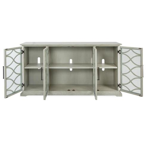 Mosaic Sterling Grey 4-Door Console