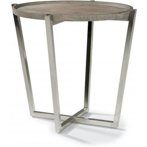 Flexsteel Oval End Table
