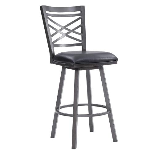 """""""Macy"""" Swivel Stool. Available in 2 Color Combinations"""