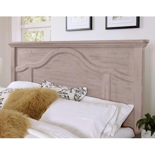Queen Bungalow Dover Grey Mantel Storage Bed