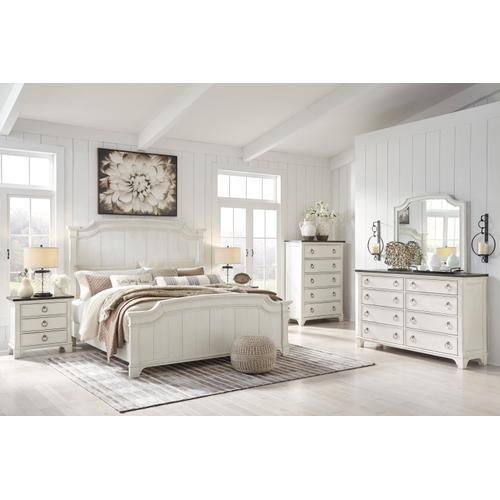 Nashbryn 4 PC. Queen Bedroom Set Whitewash