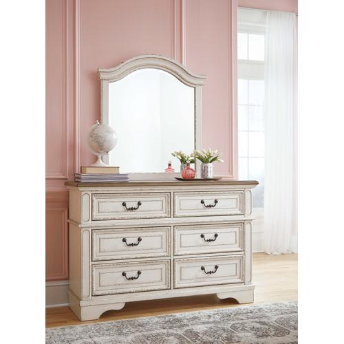 Realyn Youth Dresser and Mirror