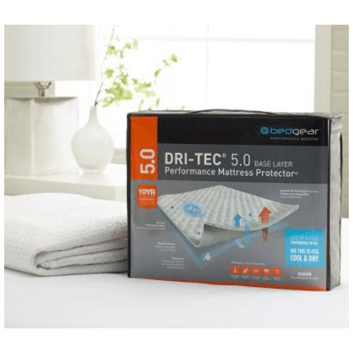 5.0 DRI-TEC MOISTURE WICKING PERFORMANCE MATTRESS PROTECTOR