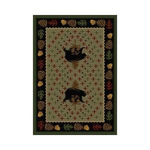 American Dakota Rugs - Patchwork Bear