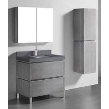 """Product Image - METRO 36"""" VANITY ONLY - ASH GREY"""