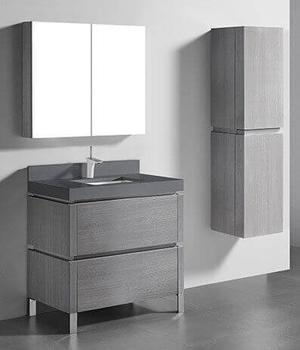"""METRO 36"""" VANITY ONLY - ASH GREY Product Image"""
