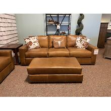 Bermuda Desert Leather Sofa - NAT-8886L10/BECA