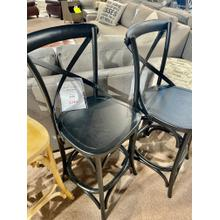 See Details - Saloon Island Counter Stool in Black