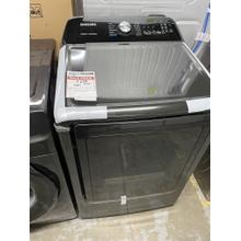 7.4 cu. ft. Electric Dryer with Steam Sanitize  in Black Stainless Steel *1 Year Warranty ** Ankeny Location