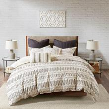 Rhea Queen Cotton Jacquard Comforter Mini Set